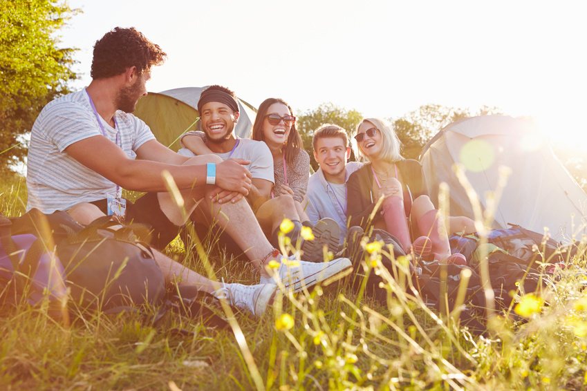 Camping entre adultes
